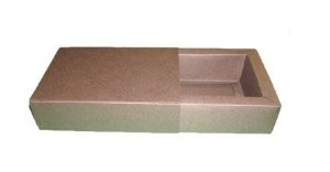 Caixas para 6  Brigadeiros - 16,5x11,5x4,5 / Marrom Chocolate