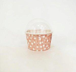 Copinho Forneável para Mini Cupcake - 5,5 x 3,5