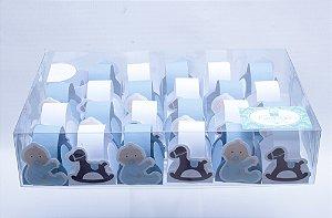 Forminhas Divertidas / Bebê Menino - 3,5x3,5x2,5