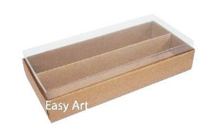 Caixa para 14 Macarons 15x8x4 - Pct com 10 Unidades