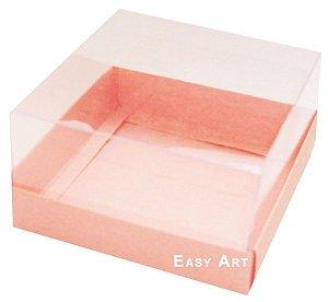 Caixa para Mini Bolos 8x8x6 - Salmão
