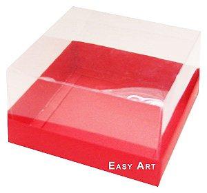 Caixa para Mini Bolos 8x8x6 - Vermelho