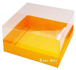 Caixa para Mini Bolos 8x8x6 - Laranja Claro
