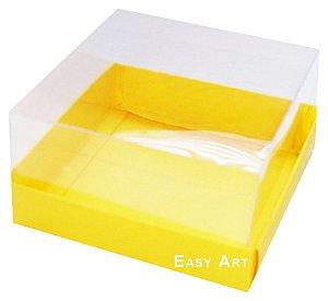 Caixa para Mini Bolos 8x8x6 - Amarelo
