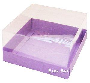 Caixa para Mini Bolos 8x8x6 - Lilás