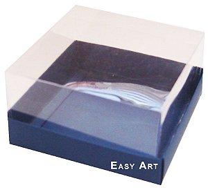 Caixa para Mini Bolos 8x8x6 - Azul Marinho