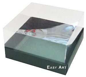 Caixa para Mini Bolos 8x8x6 - Verde Musgo