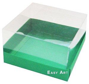 Caixa para Mini Bolos 8x8x6 - Verde Bandeira