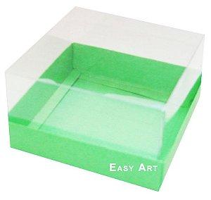 Caixa para Mini Bolos 8x8x6 - Verde Pistache