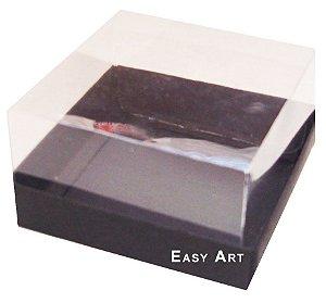 Caixa para Mini Bolos 8x8x6 - Preto