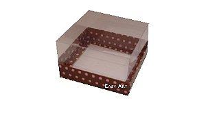 Caixa para Mini Bolos - 8x8x6