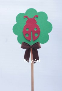 Toppers / Tags para Cupcakes Pacote com 12 unidades