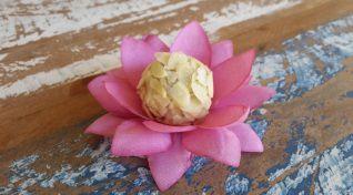 Forminhas em Tecido para Doces - Flor de Lotus