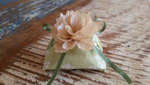 Mini Flores para Bem Casados / Tecido - Suculenta