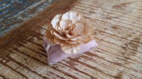 Mini Flores para Bem Casados / Tecido - Calêndula