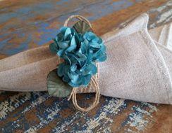 Porta Guardanapos  / Flores de Tecido - Floral