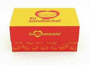 100 Caixas De Sanduiche 11x19 - Mod. Chef´S