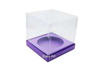 Caixa para Mini Panetones - Lilás