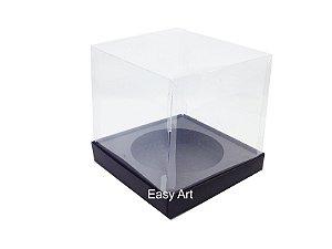 Caixa para Mini Panetones - Preto