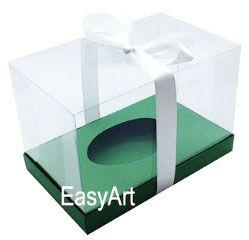 Caixa para Ovos de Colher de 350g Inteiro - Pct com 10 Unidades