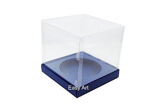 Caixa para Mini Panetones - Azul Marinho