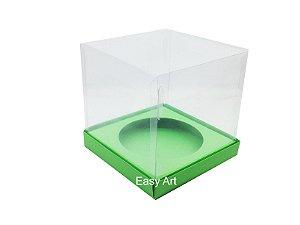 Caixa para Mini Panetones - Verde Pistache