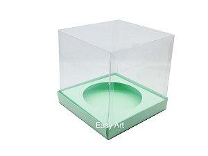 Caixa para Mini Panetones - Verde Claro