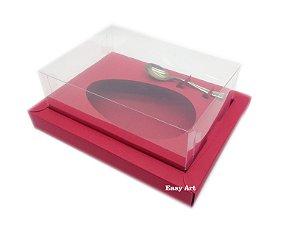 Caixa para Ovos de Colher 250g Vermelha - Linha Colors