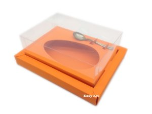 Caixa para Ovos de Colher 250g Laranja Escuro - Linha Colors