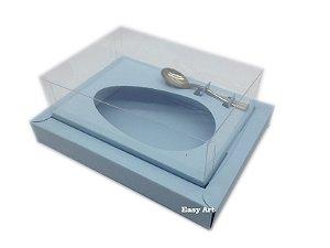 Caixa para Ovos de Colher 250g Azul Claro - Linha Colors