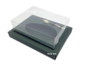 Caixa para Ovos de Colher 250g Verde Musgo - Linha Colors