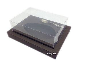Caixa para Ovos de Colher 250g Marrom Chocolate - Linha Colors