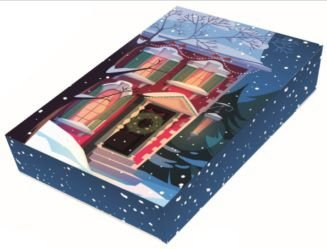 Caixa Natal Self - 12 Brigadeiros com Berço