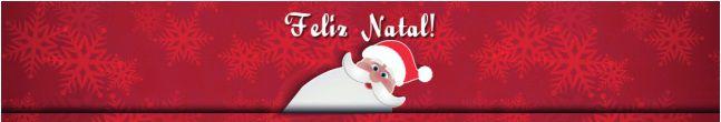 Cintas para Mini Panetones / Modelo Noel Feliz Natal