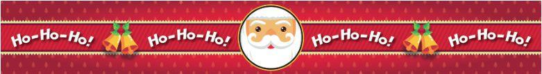 Cinta Grande para Panetone / Modelo Papai Noel