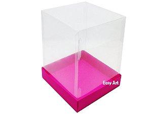 Caixa para Mini Bolos / Mini Panetone - Pink