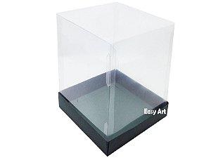 Caixa para Mini Bolos / Mini Panetone - Verde Musgo