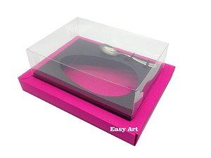 Caixa para Ovos de Colher 250g Pink / Marrom Chocolate