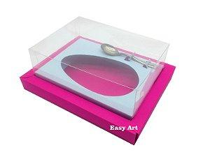 Caixa para Ovos de Colher 250g Pink / Azul Claro