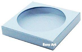 Caixa para Biscoitos / Porta Copos - Azul Claro - Pct com 10 Unidades