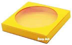 Caixa para Biscoitos / Porta Copos - Laranja Claro