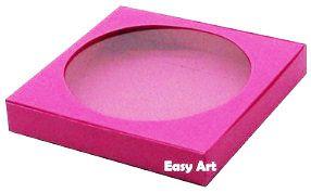 Caixa para Biscoitos / Porta Copos - Pink - Pct com 10 Unidades