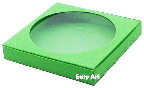 Caixa para Biscoitos / Porta Copos - Verde Pistache - Pct com 10 Unidades
