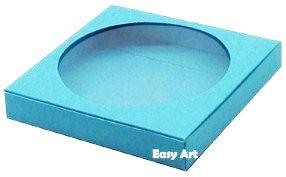 Caixa para Biscoitos / Porta Copos - Azul Tiffany - Pct com 10 Unidades