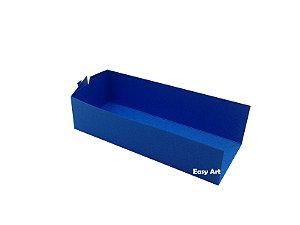 Embalagem para Fudje / Mini Churros - Azul Turquesa