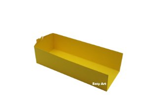 Embalagem para Fudje / Mini Churros - Amarelo