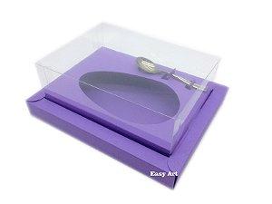 Caixa para Ovos de Colher 500g Lilás - Linha Colors
