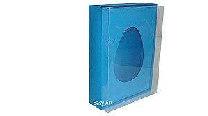 Caixas Ovos de Colher - 1K - Azul Turquesa