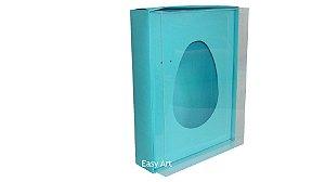 Caixas Ovos de Colher - 1K - Azul Tiffany