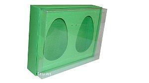 Caixas 2 Ovos de Colher de 500g Cada - Verde Pistache